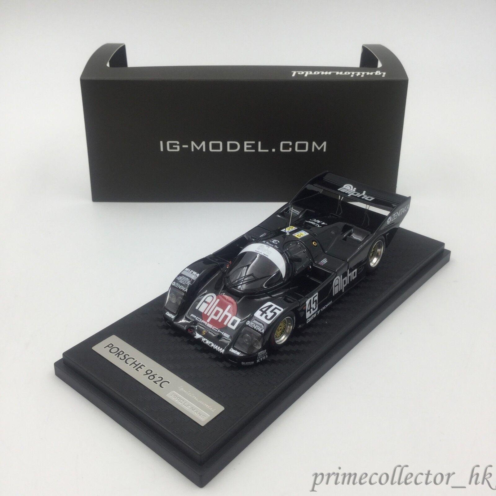 Ignición Modelo 1/43 ALFA PORSCHE 962 C (45) 2018 Le Mans IG0529