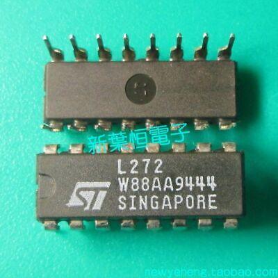 L 272 INTEGRATED CIRCUIT DUAL OP-AMP L272 16p