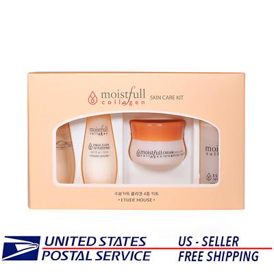 Etude House Moistfull Collagen Skin Care Sample Kit  -US SELLER -KOREAN COSMETIC