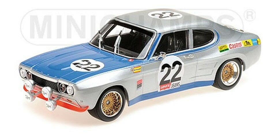 155718522 MINICHAMPS 1 18  Ford RS 2600 FORD  22 24h 1971 Winners  point de vente