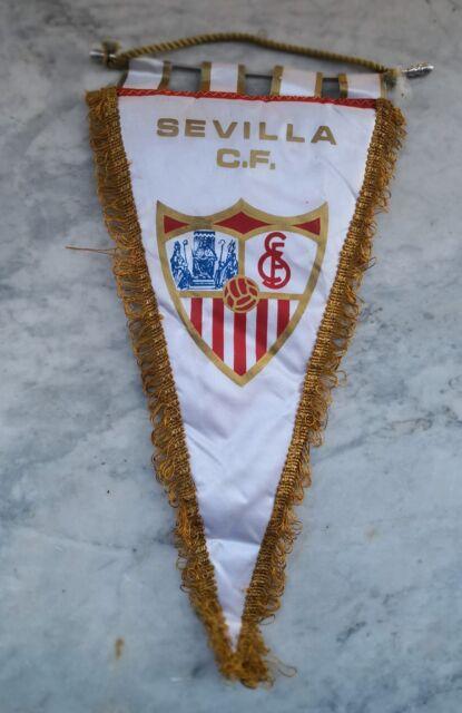 GAGLIARDETTO CF SIVIGLIA banderín FUTBOL CALCIO VINTAGE SEVILLA camiseta V