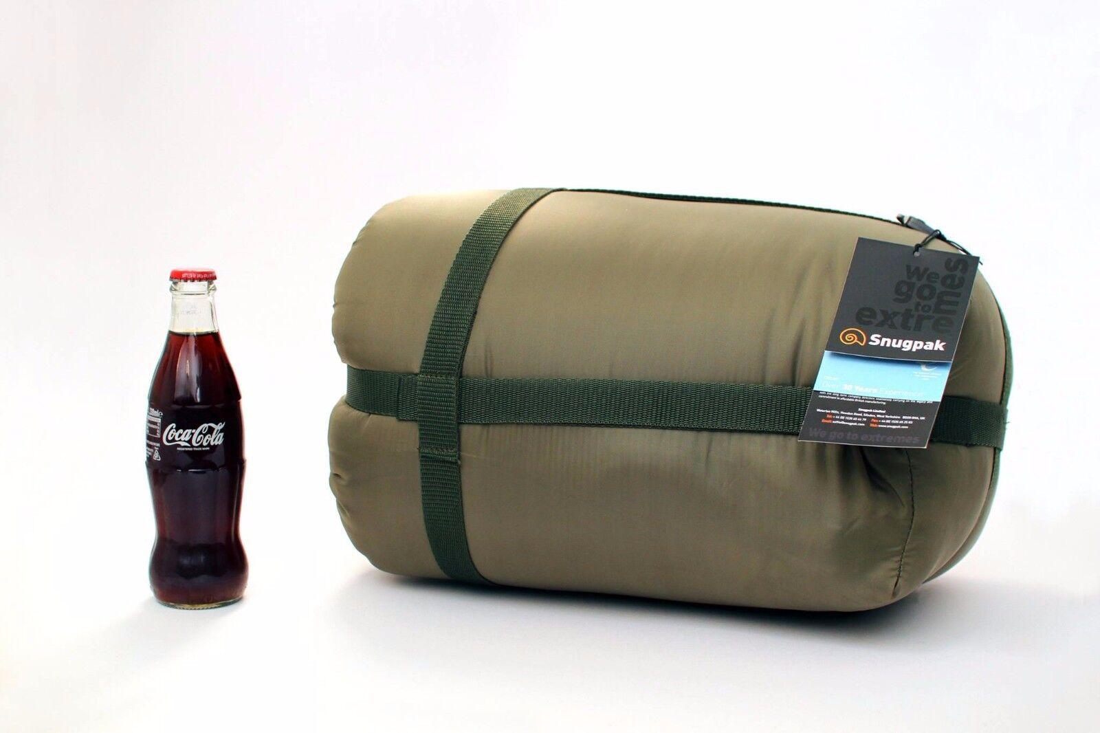 Fortis x Snugpak NEW Techlite Sleeping Bag Compact 2.4kg DPM Camo