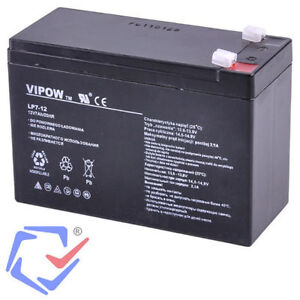 v hicules vipow 12v 7ah gel de batterie systemes d 39 alarme ups caisse moteurs ebay. Black Bedroom Furniture Sets. Home Design Ideas