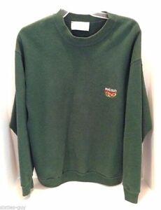 Green-Sweatshirt-from-Ireland-Long-Sleeve-XL-Chest-44-034-Quills-Woolen-Market
