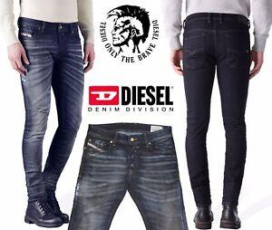 931edcd6510f5c Image is loading Diesel-Men-039-s-Sleenker-0843Q-Skinny-Jeans