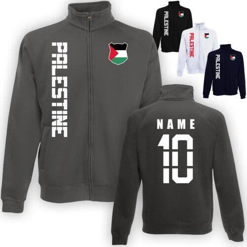 Palästina Palestine Jacke Sweatjacke Trikot mit Name /& Nummer S M L XL XXL