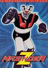 Mazinger Z: La Serie Completa En Español Latino, (Set De 10-DVD'S)