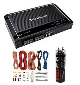 s l300 new rockford fosgate r150x2 2 channel amp car amplifier wiring