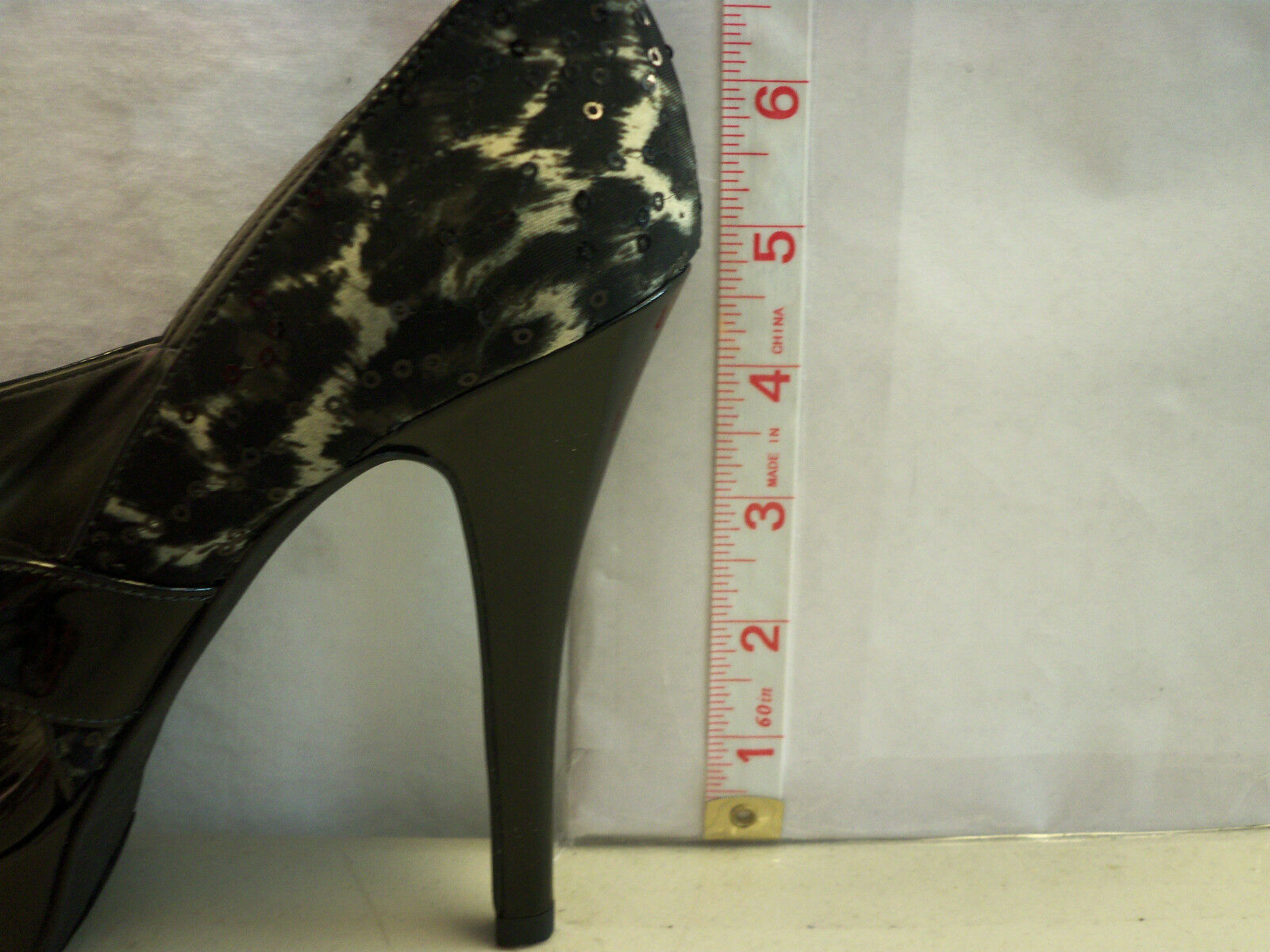 Guess New Womens Atensela Black Multi Fabric Stilletos Heels 7 7 7 M shoes e798c1