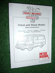 mazda e2000 e2200 van bus petrol diesel fe r2 workshop manual kia rh ebay com owner's manual mazda bongo mazda bongo friendee owners manual