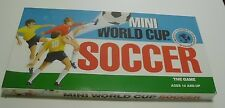 NEW SEALED Mini World Cup Soccer Board Game 1990 Hard to Find!