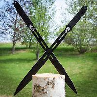 28 Twin Ninja Full Tang Japanese Sword Set Katana Machete Spear W/ Sheath