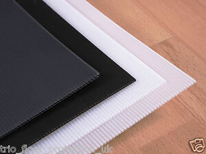 Image Is Loading Correx Corrugated Plastic Floor Protection Sheets X 10