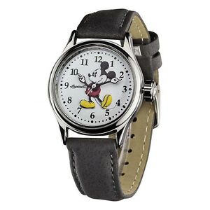 NUEVO-Disney-by-Ingersoll-25570-Mujer-Mickey-Mouse-Gris-Reloj