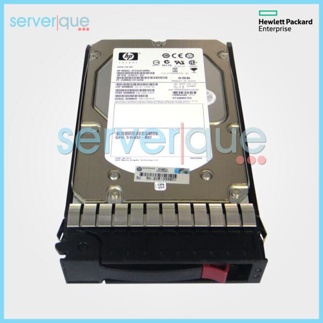 """574023-B21 HP 500GB 3G SATA 7.2K rpm 3.5"""" LFF Quick-release MDL HDD 574270-001"""