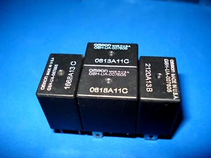 Omron Multi-Purpose Relay G8H-UA-007605 Lot of 4