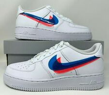 Nike Air Force 1 Low 3d Glasses GS Basketball Shoes Bv2551-100 ...