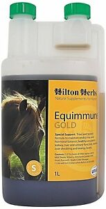 Hilton-Herbs-Equimmune-Gold-1-Litre-Horse-Supplement-Maintains-Immune-Function