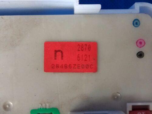 06-10 NISSAN ARMADA TITAN IPDM BCM Module FUSEBOX Fuse Box /& PLUGS 284B6ZE00C
