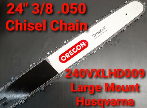 "24/"" Oregon Versacut Chainsaw Bar /& Chisel Chain Husqvarna 572 XP 3//8 050"