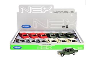 Mercedes-Benz-E-Klasse-W123-Modellauto-Auto-LIZENZPRODUKT-Massstab-1-34-1-39