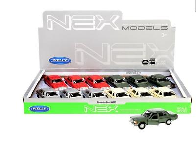 Ernst Mercedes Benz E-klasse W123 Modellauto Auto Lizenzprodukt Maßstab 1:34-1:39 Auto- & Verkehrsmodelle Autos, Lkw & Busse