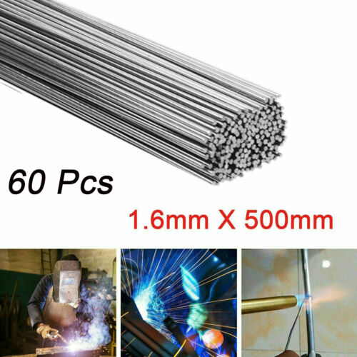 20//40//60pcs 1.6*500mm Wire Brazing Solution Welding Flux-Cored Rods US STOCK