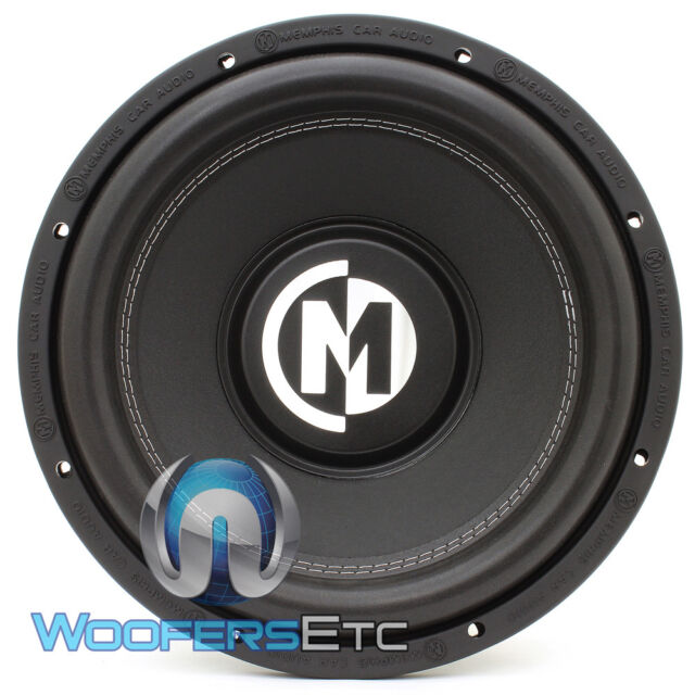 Memphis Car Audio Br10d4 Br10 10 Bass Reference Subwoofer Single