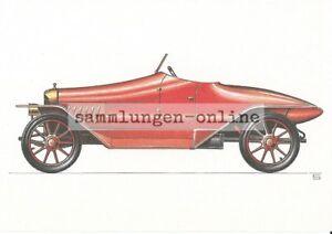 Oryx-Sportzweisitzer-k-2-1914-Dibujo-Grafico-Postal-Ak-Coche-Imagen-de-Coleccion