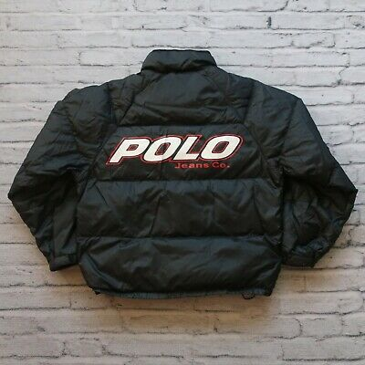 Vintage Polo Jeans Co Ralph Lauren Quilted Down Puffer ...