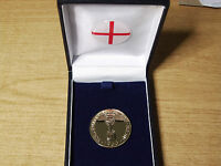 1966 ENGLAND WORLD CUP MEDAL - c/w BOX & CREST