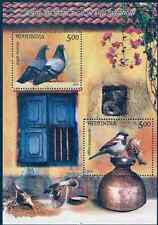 INDIA 2010 LOT OF 100 MS OF PIGEON AND SPARROW BIRDS MINIATURE SHEET MNH