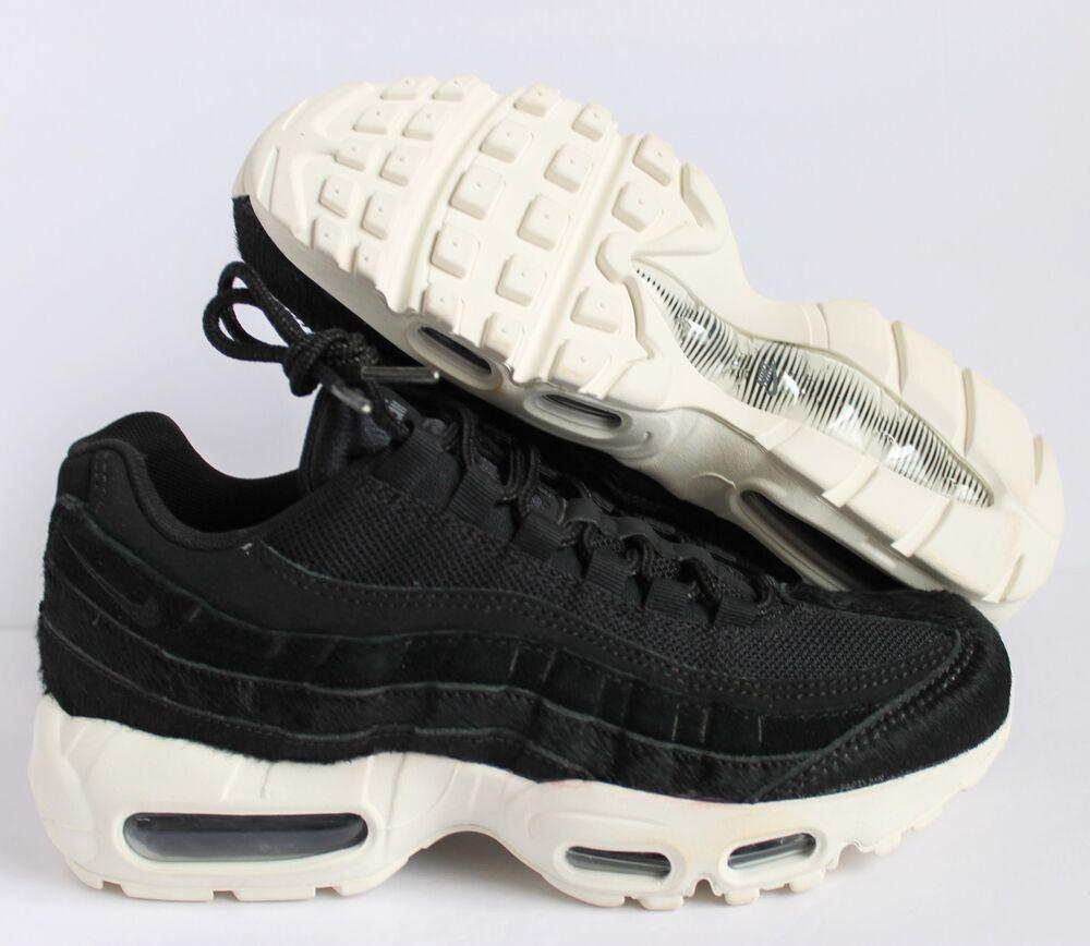 new style 8ce84 a6389 Nike Women Air Max 95 95 95 LX Noir-Sail Homme Chaussures de sport pour