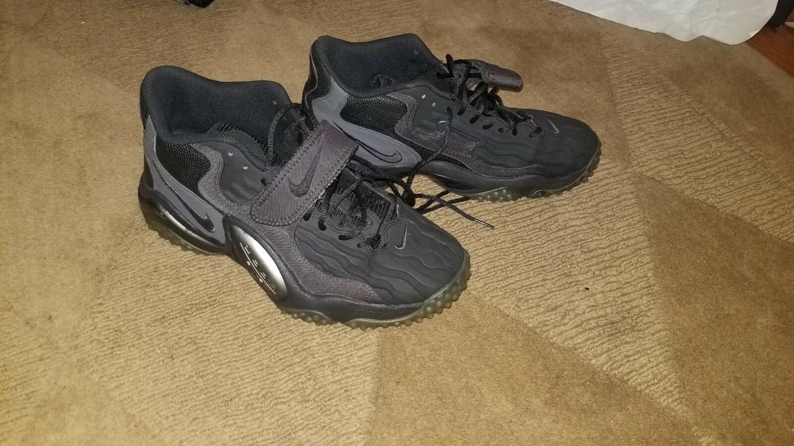 9c1a52af43 Air zoom black on black. Used but in great condition. No creases. New NIKE  Air Max Motion Triple Black Mens Casual Athletic shoes al sizes