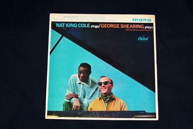 NAT KING COLE EP NAT KING COLE SINGS GEORGE SHEARING PLAYS 1962 CAPITOL VG/VG