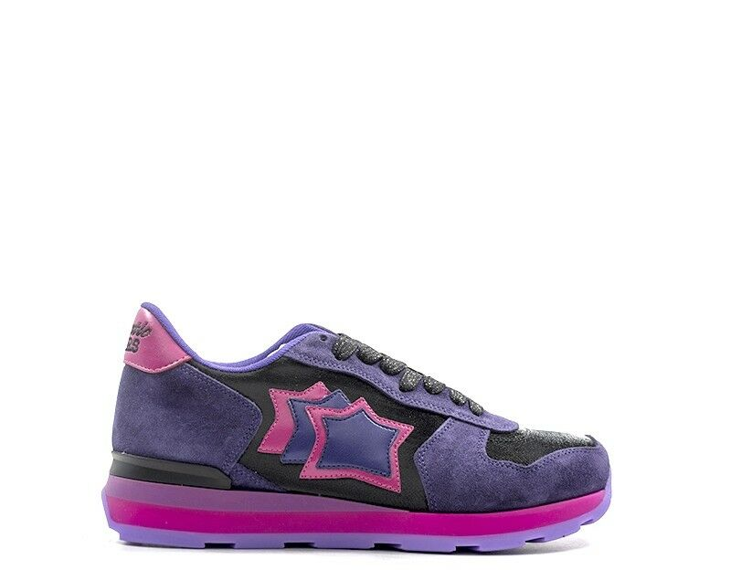 shoes ATLANTIC ATLANTIC ATLANTIC STARS women Sneakers Trendy  purple Scamosciato,Tessuto VEGANVV-0 3c3c4b