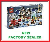 Lego Creator Christmas Winter Village City Post Office Set 10222 7 Minifig