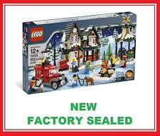Lego Creator Christmas Winter Village City Post Office set 10222 New 7 minifig @