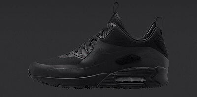 Nike Air Max 90 Sneakerboot SP 'Patch' BlackBlack 704570 001 | eBay