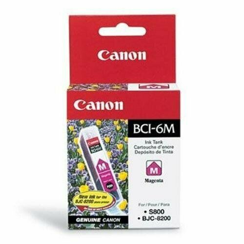 Canon Magenta Ink Cartridge For Bjc8200 And S800 Printers - Magenta (canon