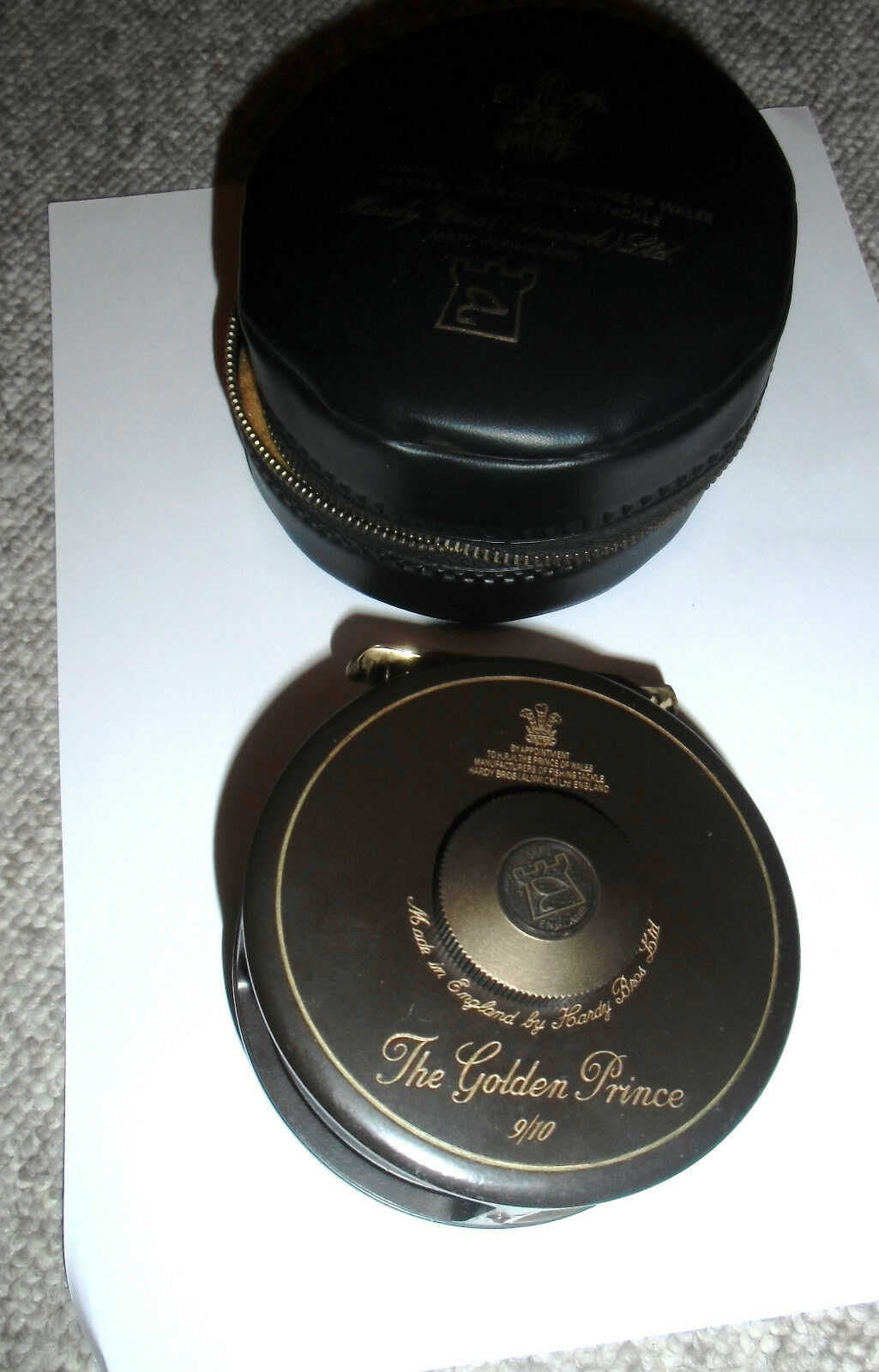 Hardy The golden Prince 9 10   Hardy Bros Ltd England Hardy Flyreel  2018 store
