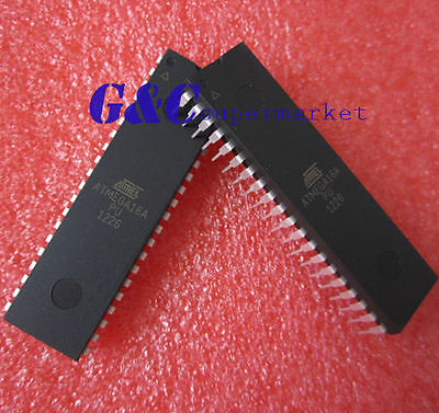 2PCS ATMEGA16A-PU ATMEGA16A DIP-40 NEW GOOD QUALITY