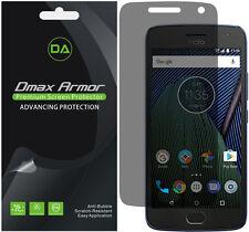 2-Pack Dmax Armor Privacy Anti-Spy Screen Protector for Motorola Moto G5 Plus