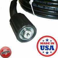Replacement Power Pressure Washer Hose 3000 Psi Delta Excell Troy Bilt 25' Usa