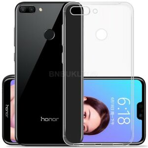 sports shoes 98bb9 e0c22 Details about For Huawei Honor 9i Case Clear Slim Gel Cover & Glass Screen  Protector