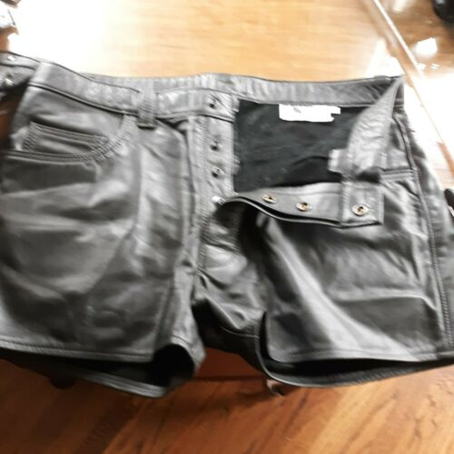 Mr. S Leather  Leather Shorts , not pants