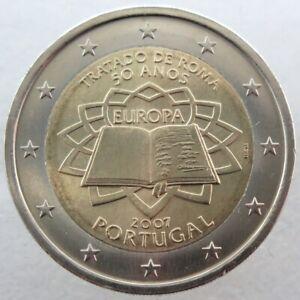 PO20007.1 - PORTUGAL - 2 euros commémo. Traité de Rome - 2007