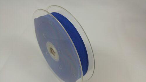 RUBAN COUTURE MERCERIE 25 coloris au choix BIAIS UNI 20 mm x 5 mètres