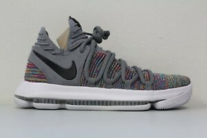 wholesale dealer 03313 eef0b Image is loading Nike-Mens-Zoom-KD-10-Multi-Color-Cool-