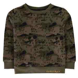 Kids-Boys-Firetrap-Crew-Sweatshirt-Sweater-Long-Sleeve-New